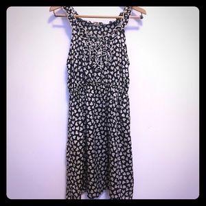 Heart print Modcloth dress W M